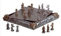 $99.95 Medieval Chess Set