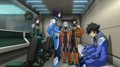 Setsuna and Nena Blue Exorcist Characters, Gundam 00, Mobile Suit, Battleship, Anime Characters, Movies, Nerdy, Game, Board