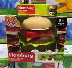 ♛ Shop8 :  MINI HAMBURGER FOOD  KITCHEN Play Set Toys Collectibles K5d0-0 | eBay Mini Hamburgers, Wholesale Toys, Play, Ethnic Recipes, Kitchen, Desserts, Food, Image, Tailgate Desserts