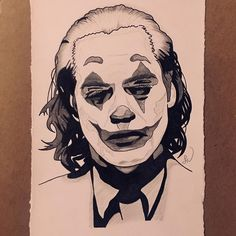 joker drawing sketch somewhat drawings dc sketches karina khwite 64gb easy cool stencil pencil apple iphone minimalistic joaquinphoenix subscription locked