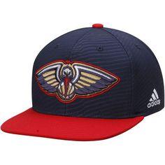 super popular 0783c 4006c ... denmark new orleans pelicans adidas energy stripe snapback adjustable  hat navy red 89981 71e6d