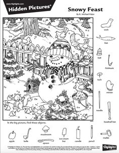 Prints full page - kelly mason - SiePin Activity Sheets, Activity Games, Hidden Pictures Printables, Highlights Hidden Pictures, Hidden Picture Puzzles, Search And Find, Hidden Objects, Picture Search, Colouring Pages