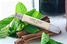 Cafe Latte Natural Lip Gloss - Brown Lip Tint - Natural Cosmetics - Tinted Lip…