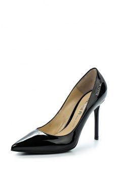 Туфли Nando Muzi, цвет: черный. Артикул: NA008AWFLI62. Женская обувь / Туфли / Туфли на шпильке