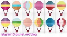 cross stitch - point de croix - free pattern @ lala手作 :: 痞客邦 PIXNET ::