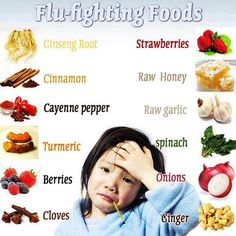 Natural plant based diet: Flu fighting foods