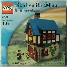 Lego 3739 - Blacksmith Shop - 2002
