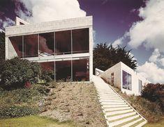 Creek Vean House, Cornwall UK (1966) | Norman Foster + Richard Rogers | Archweb
