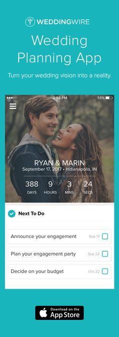 Keep wedding planning simple with our FREE app!