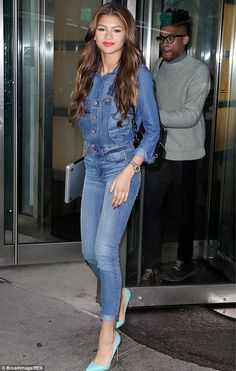 First choice: Singer and actress Zendaya Coleman stepped down from playing Aaliyah at the ...