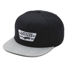 a7da5912c0f Full Patch Snapback Hat Vans Hats