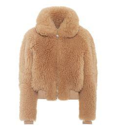 6 Casual Fall Outfits You Can Throw Together in Seconds via @WhoWhatWear Shearling Jacket, Fur Jacket, Casual Fall Outfits, Cute Outfits, Types Of Jackets, Teddy Coat, Brown Jacket, Silhouette, Mantel