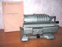 Vintage ADDING MACHINE Mechanical Calculator FELIX ARITHMOMETER SOVIET USSR