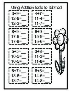 FREE Winter Missing Numbers Worksheet using 2 digit