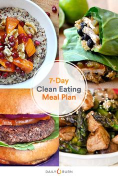 7 Days of Clean Eating, Made Simple