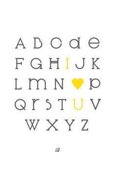 LostBumblebee 2013 Alphabet LOVE 2013