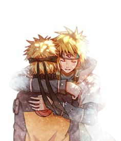 Anime: Naruto Personagens: Uzumaki Naruto e Namikaze Minato Naruto Minato, Anime Naruto, Naruto Shippuden Anime, Manga Anime, Anime Ninja, Sasuke Sakura, Anime Kawaii, Familia Uzumaki, Image Manga