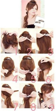 Latest Hairstyles 2012: Some Do It Yourselves DIY Hair Styles