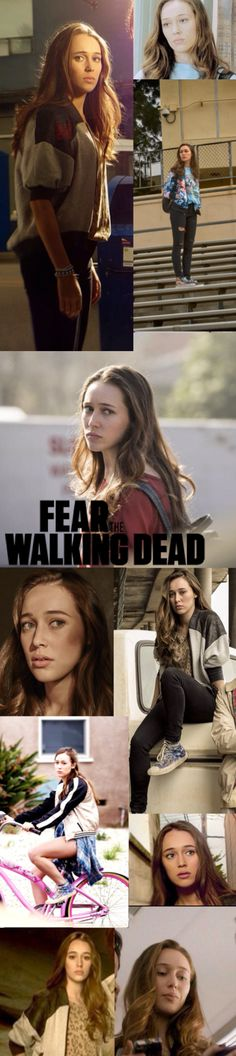 Alicia Clark - Cast - Fangirl - Fear the Walking Dead