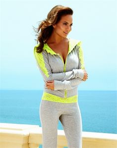 I love Beachbunny apparel... SEASHORE HOODIE and pants.. perfect for gym or lounging around