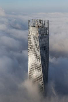 Arcaid Images Architectural Photography Awards shortlist #tower #skyscraper #sky #clouds