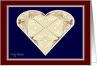 My Military Deployed Love Red White & Blue Lace Heart Valentine Card Card by Greeting Card Universe. $3.00. 5 x 7 inch premium quality folded paper greeting card. Greeting Card Universe offers the largest selection of Valentine's Day cards on the web. Whether for one person or the whole family, a Valentine's Day card will make the occasion memorable this year. Let Greeting Card Universe help you find the best Valentine's Day card this year. This paper card includes th...
