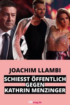 """Nach dem überraschenden """"Let's Dance""""-Aus von Tijan Njie und Kathrin Menzinger im Halbfinale, machte die Profi-Tänzerin ihrem Unmut auf Instagram Luft. Nun schießt Joachim Llambi öffentlich gegen Menzinger. Mehr dazu auf OKmag.de! #okmag #letsdance #joachimllambi"""