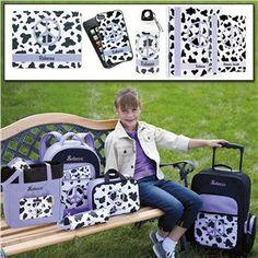 Lavender Spots Peace Bag Collection