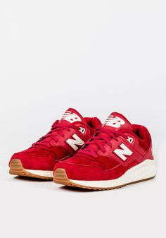 NEW BALANCE (530 REDWOOD) - RED/CREAM | NEW BALANCE | Loaded