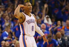 Russell Westbrook - Memphis Grizzlies v Oklahoma City Thunder - Game Seven