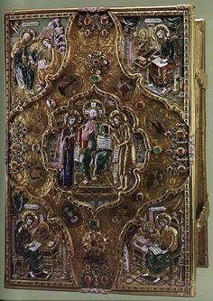 russianEnamels-Евангелие напрестольное. 1678 г. Мастерские Московского Кремля