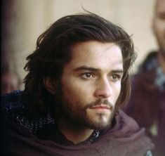 Orlando Bloom's as his character from Kingdom of Heaven.