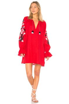e279dd58bd47 Shop for Eleven by March 11 Adele Mini Dress in Red with Black & White at  REVOLVE.