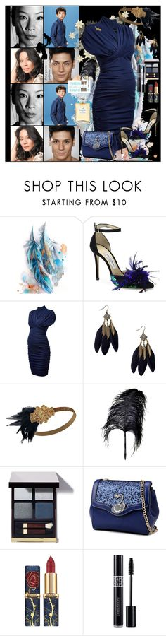 """""""Genetic goldmine"""" by julyralewis ❤ liked on Polyvore featuring Aquarelle, Jimmy Choo, Maison Margiela, Christian Dior and Chanel"""