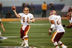 Super Bowl MVPs Mark Rypien, QB, Washington Redskins - Super Bowl XXVI Washington's Gary Clark and Art Monk became the third pair of teammates to have 100-plus yards receiving in a Super Bowl, but the man who delivered those throws earned the honors. Mark Rypien became the third Redskins quarterback to win a Super Bowl, and the second to win the MVP, after Doug Williams in Super Bowl XXII.