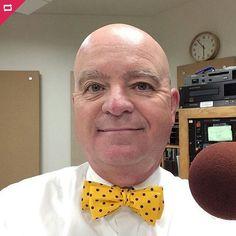 @brian_okeefe Another new bow tie Wednesday thanks #theBowTieClub. Www.bowtieclub.com (Adagio)