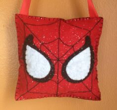 Items similar to Hand sewn felt superhero tooth fairy pillow on Etsy Tooth Pillow, Tooth Fairy Pillow, Crochet Projects, Sewing Projects, Hero Crafts, Creative Christmas Gifts, Sewing To Sell, Fairy Jewelry, Sewing Leather