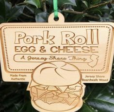 Pork Roll, Place Cards, Rolls, Place Card Holders, Christmas Ornaments, Holiday Decor, Buns, Christmas Jewelry, Bread Rolls