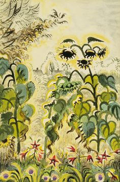 Charles Burchfield, Unknown on ArtStack #charles-burchfield #art