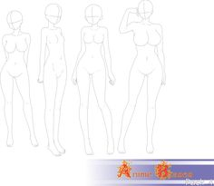 Anime Bases Pack 4 by FVSJ