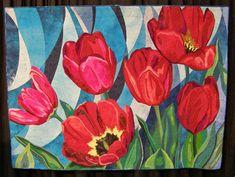 Flower Quilts at the International Quilt Shows  -  Travel Photos by Galen R Frysinger, Sheboygan, Wisconsin