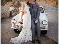 lace dress. vintage wedding