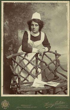 Unidentified Mental Nurse, Wales.