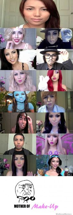Mother of make up