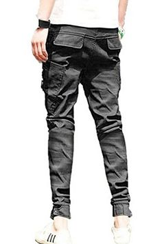 New Mens Harem Casual Trousers Tapered Drop Crotch Cuffed Jogger Pants -  Buy Online in UAE. | Apparel Products in the UAE - See Prices, Reviews and  Free Delivery in Dubai, Abu Dhabi, Sharjah - Desertcart UAE