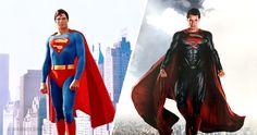 Famous superheroes: anevolution