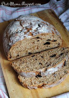 Etat MAMA: Domowy chleb ze śliwkami