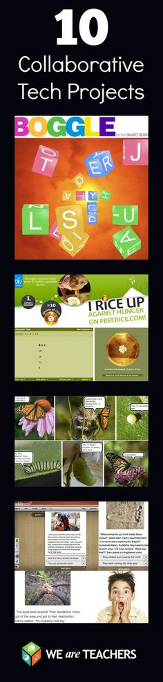 These are great ways to add technology to your classroom, and have kids work together in teams!