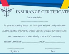 salvation army certificates of insurance