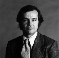 Jack Nicholson - portrait 1980 - as Jack Torrance Jack Nicholson, Diane Keaton, Anjelica Huston, Black White, Cinema, Diana Vreeland, Star Wars, Harrison Ford, Amor